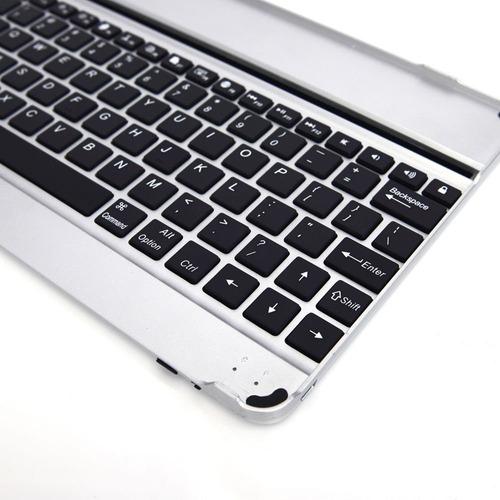 teclado bluetooth estuche ipad 2 3 4 protector aluminio