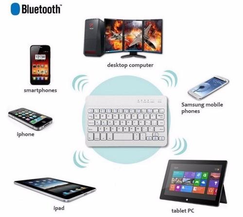 teclado bluetooth inalámbrico ios, android, windows