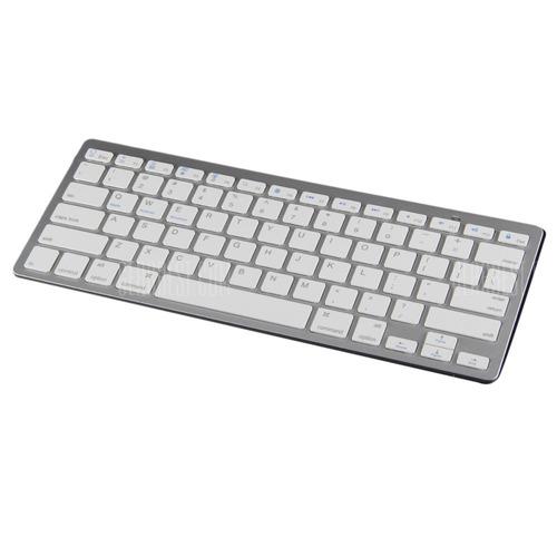teclado bluetooth inalambrico ipad mac android aluminio