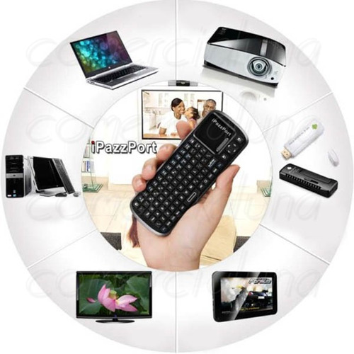 teclado bluetooth mouse pad portatil inalambrico bt g-cv708