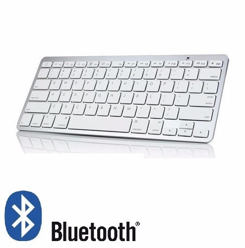 teclado bluetooth padrão mac apple ipad ipad air 1 air2 ios