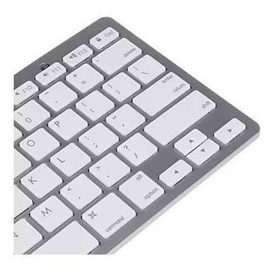 teclado bluetooth sem fio padrão apple imac ipad pc wireless