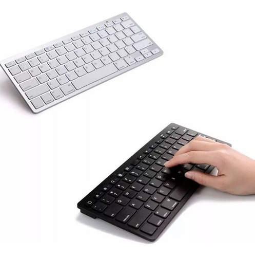 teclado bluetooth universal sem fio ipad iphone mac cpu note