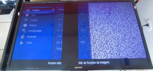 teclado c/ sensor remoto tv semp toshiba dl3944