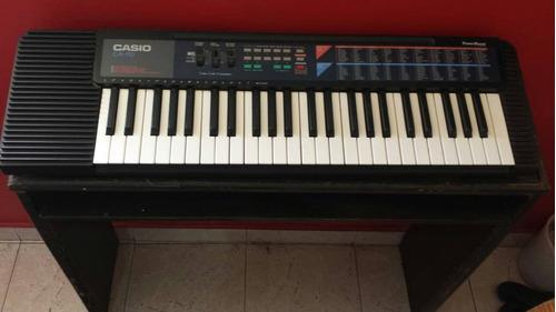 teclado casio ca 110 con mesa y transformador
