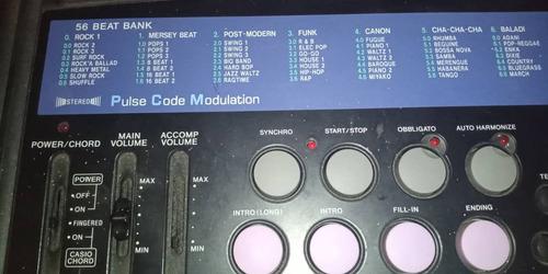 teclado casio ct-657 adactador de corriente forro excelente