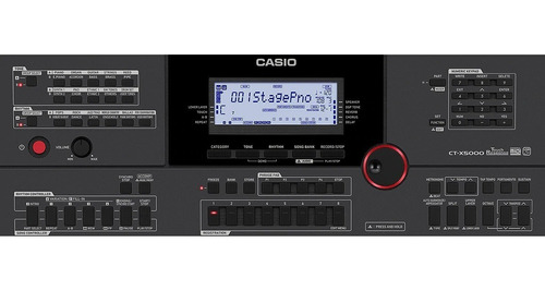 teclado casio ct-x 5000 5 octavas sensitivo 61 sequencer