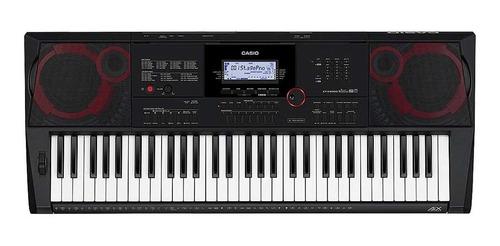 teclado casio ct-x3000 + capa + suporte + fonte