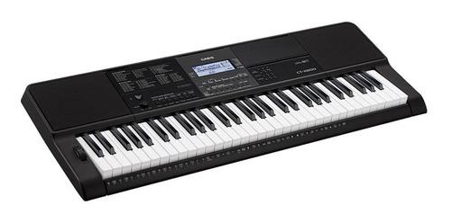 teclado casio ct-x800 sensitivo + funda + fuente + soporte