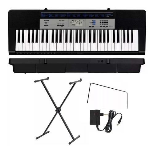 teclado casio ctk-1550 k2 + suporte x - ask