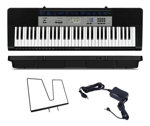 teclado casio ctk-1550 musical digital 61 teclas 5/8 estudos