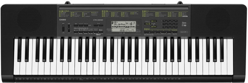 teclado casio ctk-2200 con fuente de regalo!! cuotas