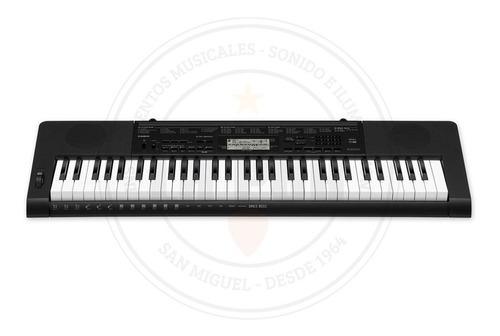 teclado casio ctk 3500 61 teclas sensitivas con fuente