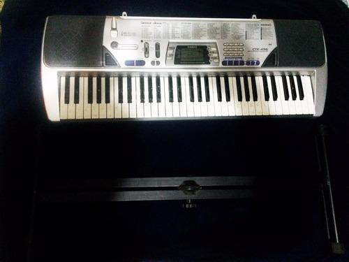 teclado casio ctk 496