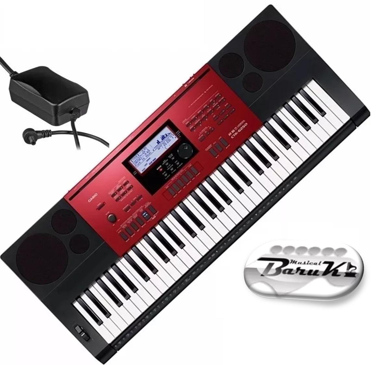 bc4fe74da9e teclado casio ctk 6250 5 8 61 teclas + fonte musical baruk. Carregando zoom.