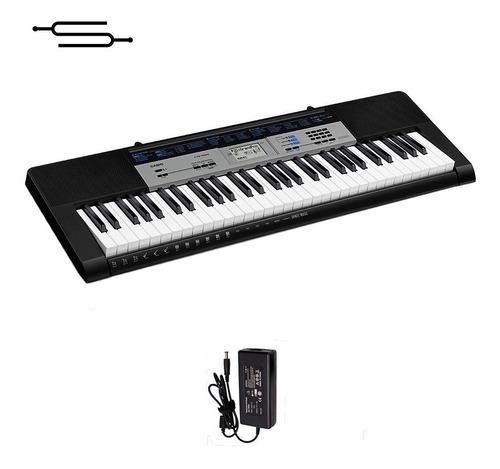 teclado casio ctk1550 organo 5oct + fuente + soporte + funda