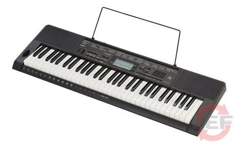teclado casio ctk3500  + fuente + soporte + funda acolchada