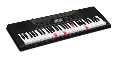 teclado casio digi teclas iluminadas lk-265 negro/amarillo