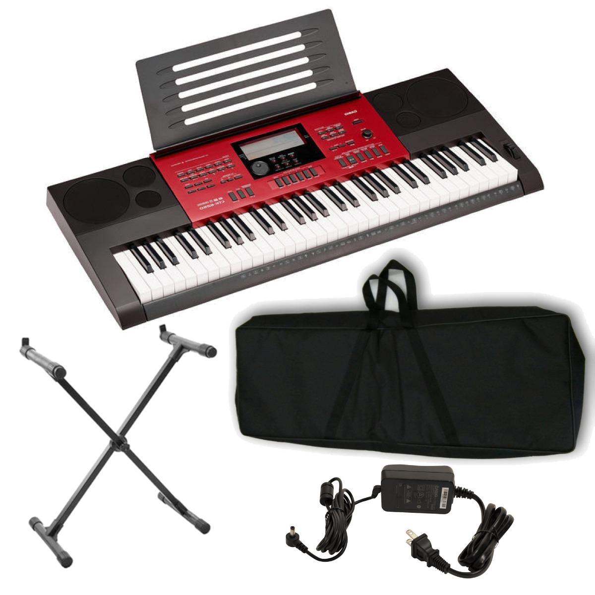 a627d7001c9 teclado casio digital ctk-6250 61 teclas + kit6l. Carregando zoom.