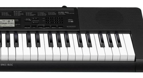 teclado casio digital portátil ctk-3500 negro