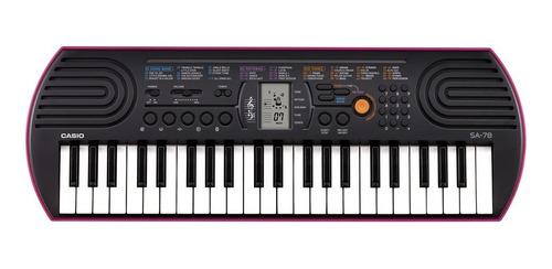 teclado casio miniatura sa-78