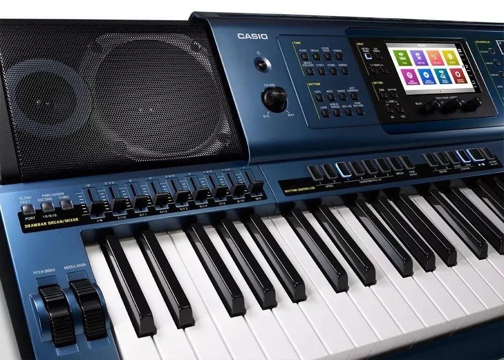 121282d8b49 teclado casio mz-x500. Carregando zoom.