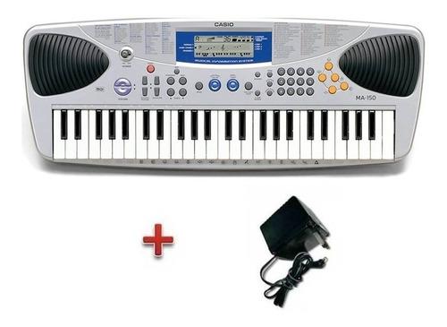 teclado casio niños ma150 portátil 49 tclas c/midi + fuente