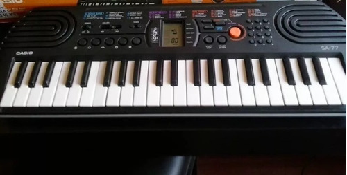 teclado casio sa-77