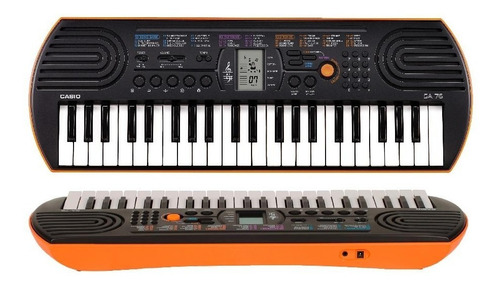 teclado casio sa76 organo teclas mini ideal niños 44 teclas