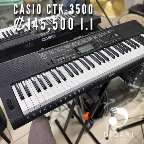 teclado casio sensible ctk3500