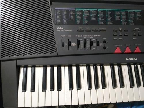 teclado casio tk-80