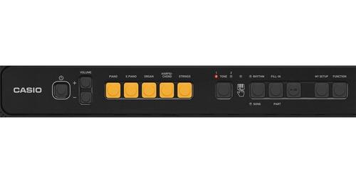 teclado casio tone ct-s100 musical digital 61 teclas preto