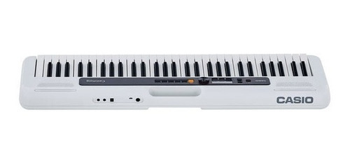 teclado casio tone ct-s200 musical digital 61 teclas branco
