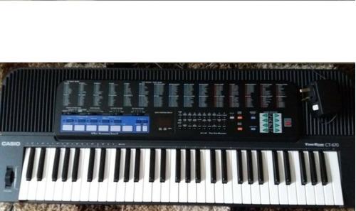 teclado casio vintage ct670 ct-670 sintetizador tone bank