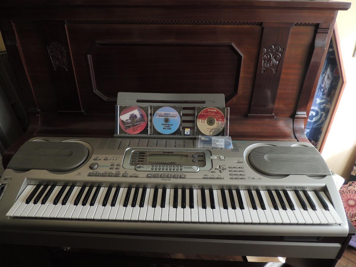 CASIO WK-3300 MIDI DRIVERS DOWNLOAD FREE