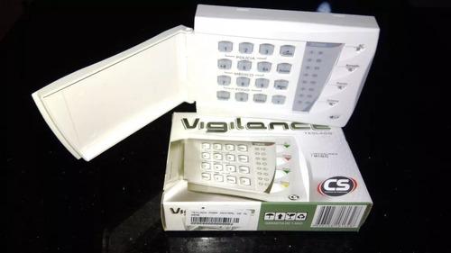 teclado central de alarme cs vigilance