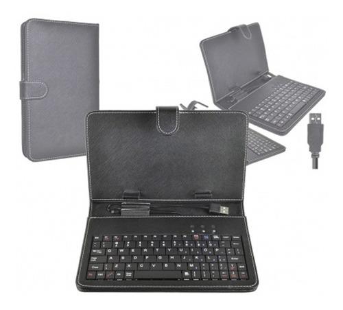 teclado c/estuche para tablet 9