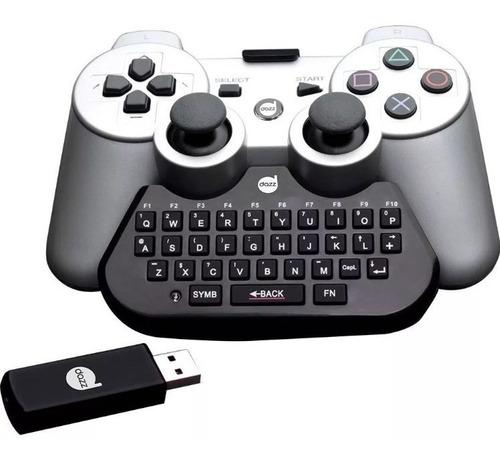 teclado chatpad para game ps3  dazz 12 x