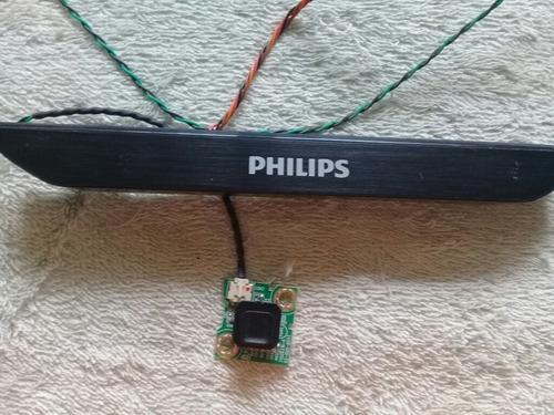 teclado com sensor remoto philips 43pfg5000
