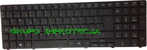 teclado compatible con laptop acer aspire 5741 español negro
