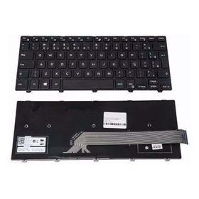 Teclado Compatível Dell 14 3442 Pk1313p1a32 Nsk-lq0sc 1b