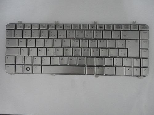 teclado completo p/n notebook hp dv5 1240 br com tecla 'ç'