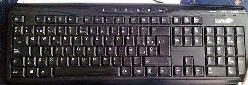 teclado compumax