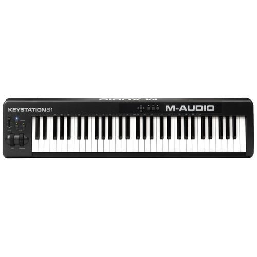 teclado control midi 61 teclas c/usb keystation61ii m-audio