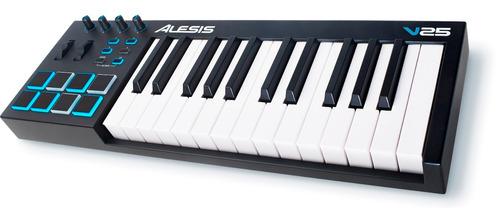 teclado controlador alesis v mini usb 25 teclas