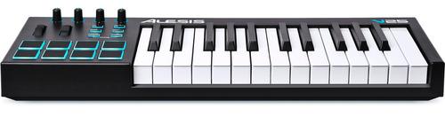 teclado controlador alesis v25 usb/midi 25 teclas