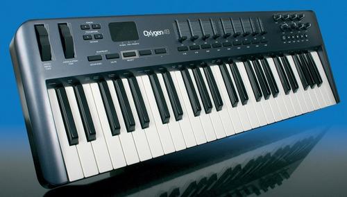 teclado controlador m-audio oxygen 49