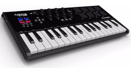teclado controlador mid 32 teclas axiom air mini 32 + ignite