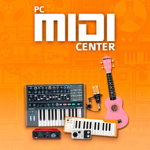teclado controlador midi