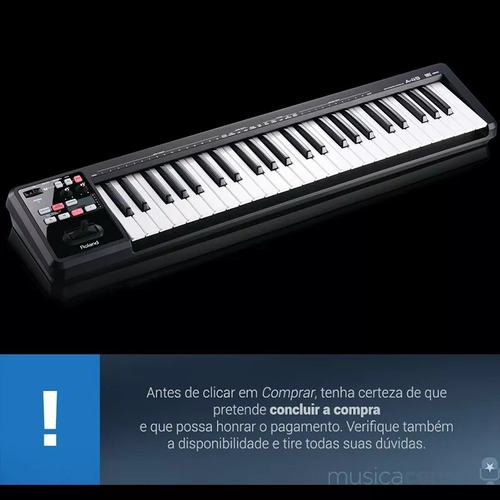 teclado controlador midi ano